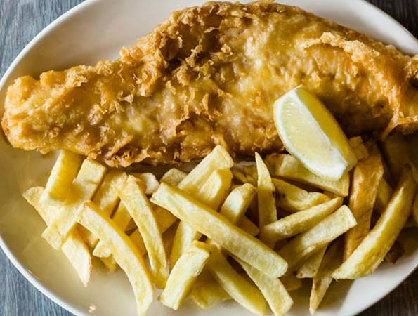 Kingfisher Restaurant - Fish and Chips